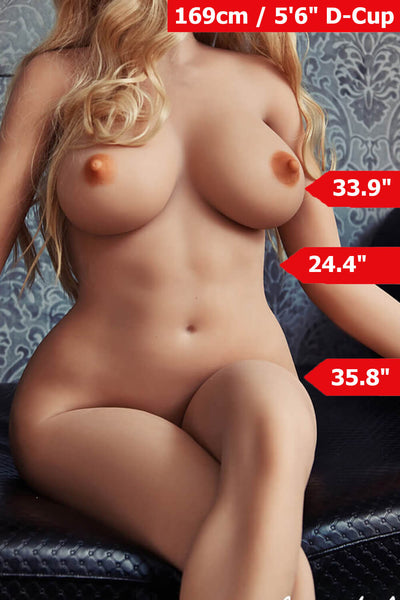 5ft6' (169cm) D-Cup Realistic  Sex Doll Body (Irontech Doll)