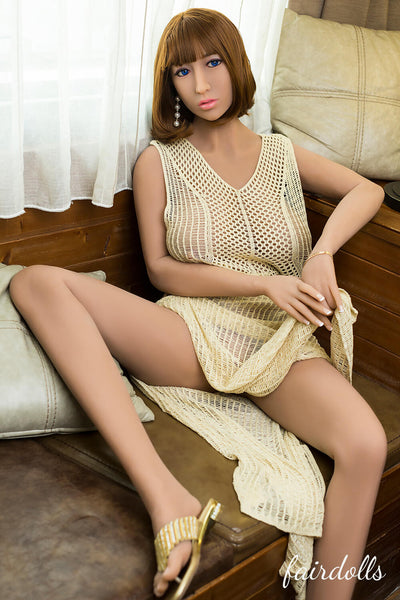 5ft7' (171cm) E-Cup Big Boobs Sex Doll - Leah (SY Doll)