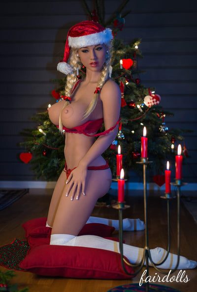 5ft7' (170cm) H-Cup Christmas Big Boobs Sex Doll - Sheyla (WM Doll)
