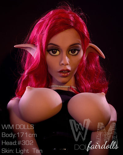 "5'7"" (171cm) H-Cup Curvy Thin Waist Elf  Sex Doll - Moriah (WM Doll)"