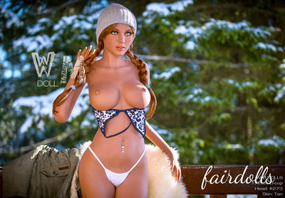 5ft7' (172cm) D-Cup Hot Busty Model Sex Doll - Fabiola (WM Doll)