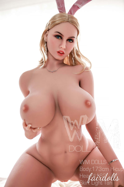 5ft8' (173cm) H-Cup Busty Sexy Bunny - Kinley (WM Doll)