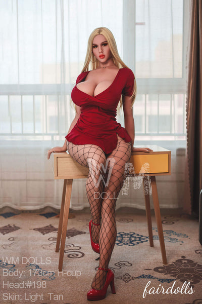 "5'8"" (173cm) H-Cup Super Sensual Curvy Love Doll  - Estefani (WM Doll)"