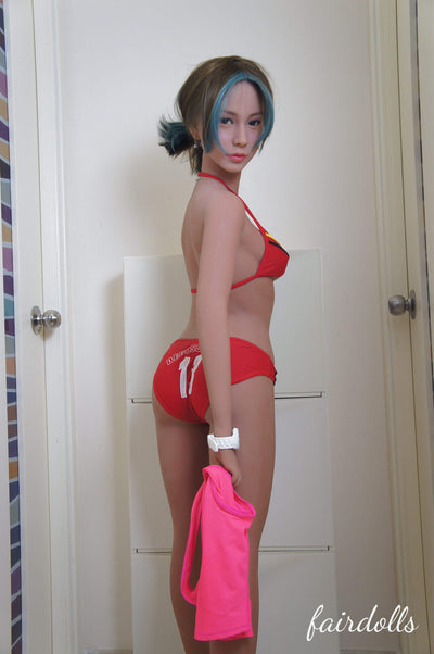 "5'0"" (153cm) A-Cup Realistic Asian Sex Doll - Justine (WM Doll)"