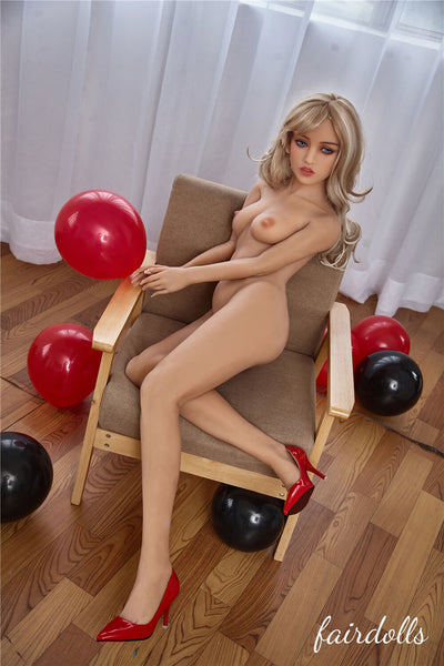 "4'11"" (150cm) B-Cup Valentine Sex Doll - Victoria (Irontech Doll)"