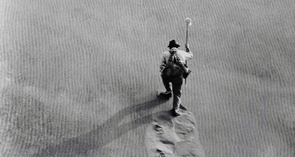 Still from Japanese film, the Woman in the Dunes