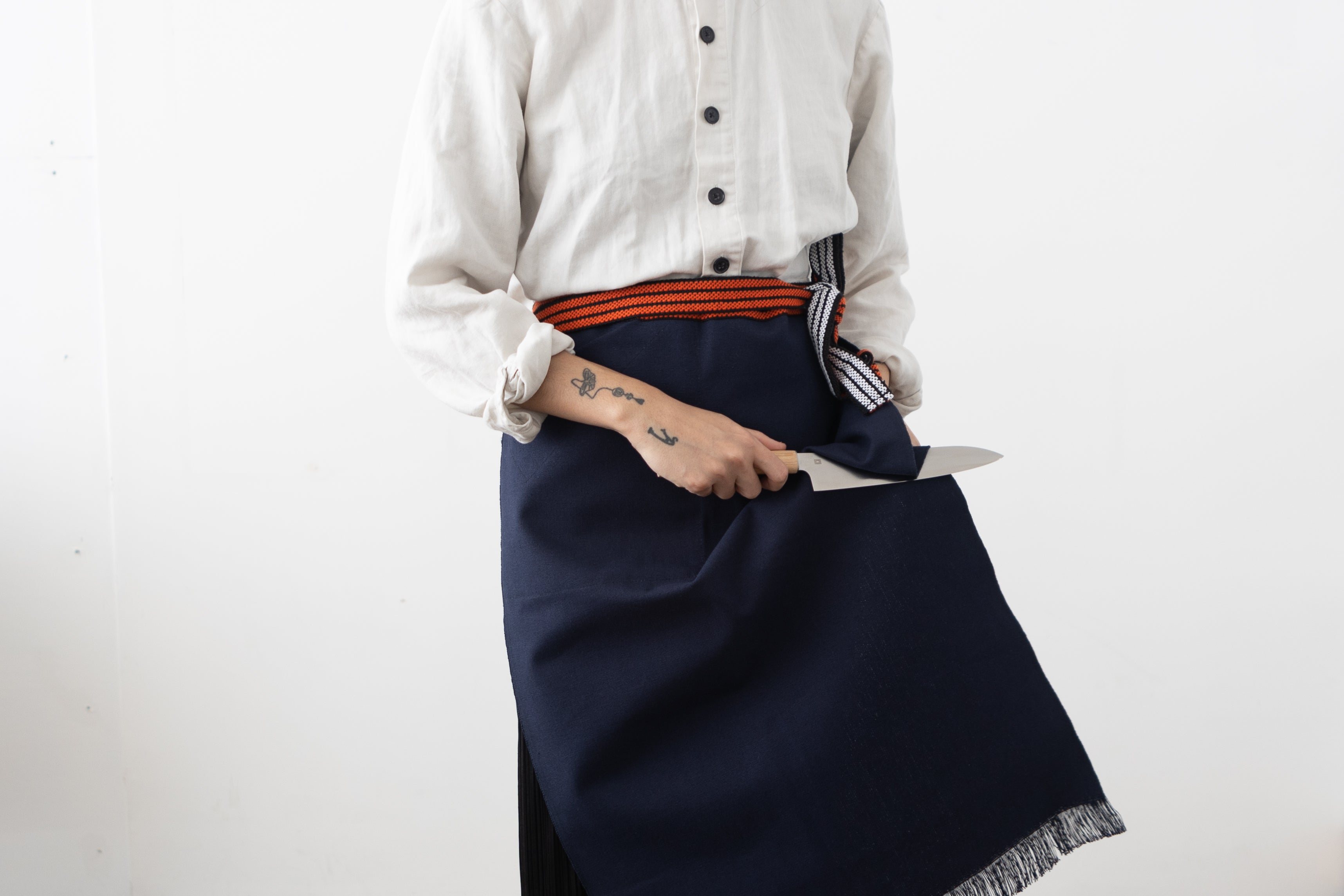 Apron and Knife