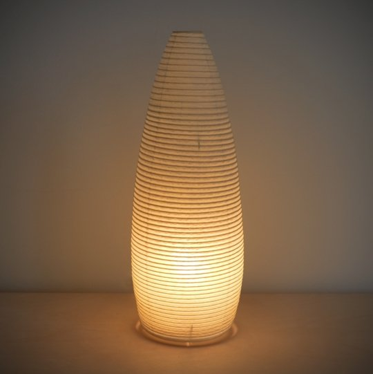 Asano Washi Lamp No 3. - Cone Shaped - tortoise general store