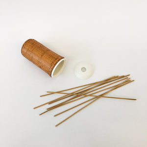 Bamboo Diffuser Bottle and Reeds - tortoise general store