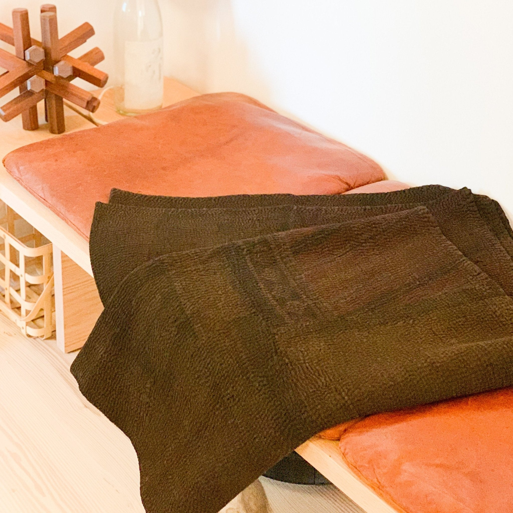 Brown Over Dye Quilt: Mud + Wood - tortoise general store