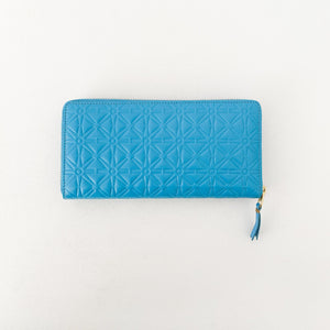 CDG Embossed Long Wallet SA011E - tortoise general store