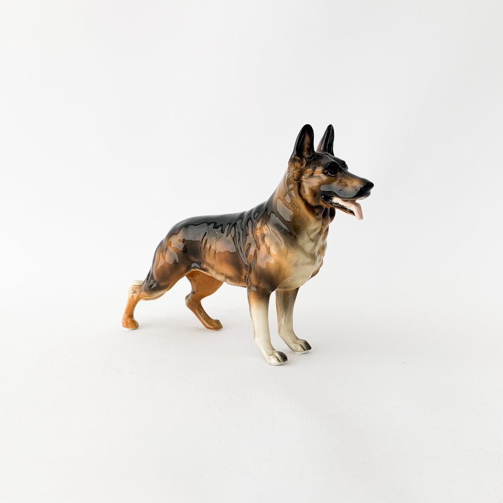 Ceramic German Shepard Figurine - tortoise general store