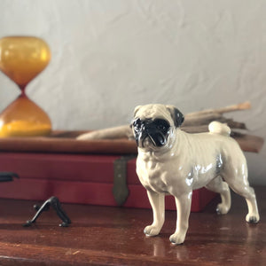 Ceramic Pug Figurine - tortoise general store