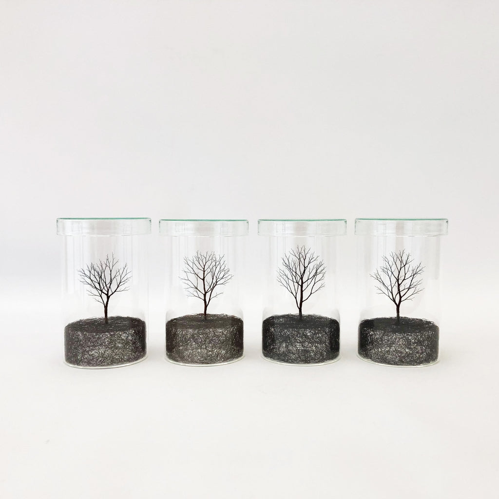 Copper Wire Trees #5 - 8 (2020) by Mitsuru Koga - tortoise general store