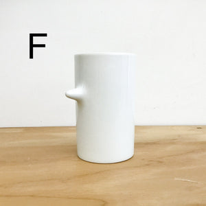 Fancy Cup A-F by Hakusan Porcelain - tortoise general store