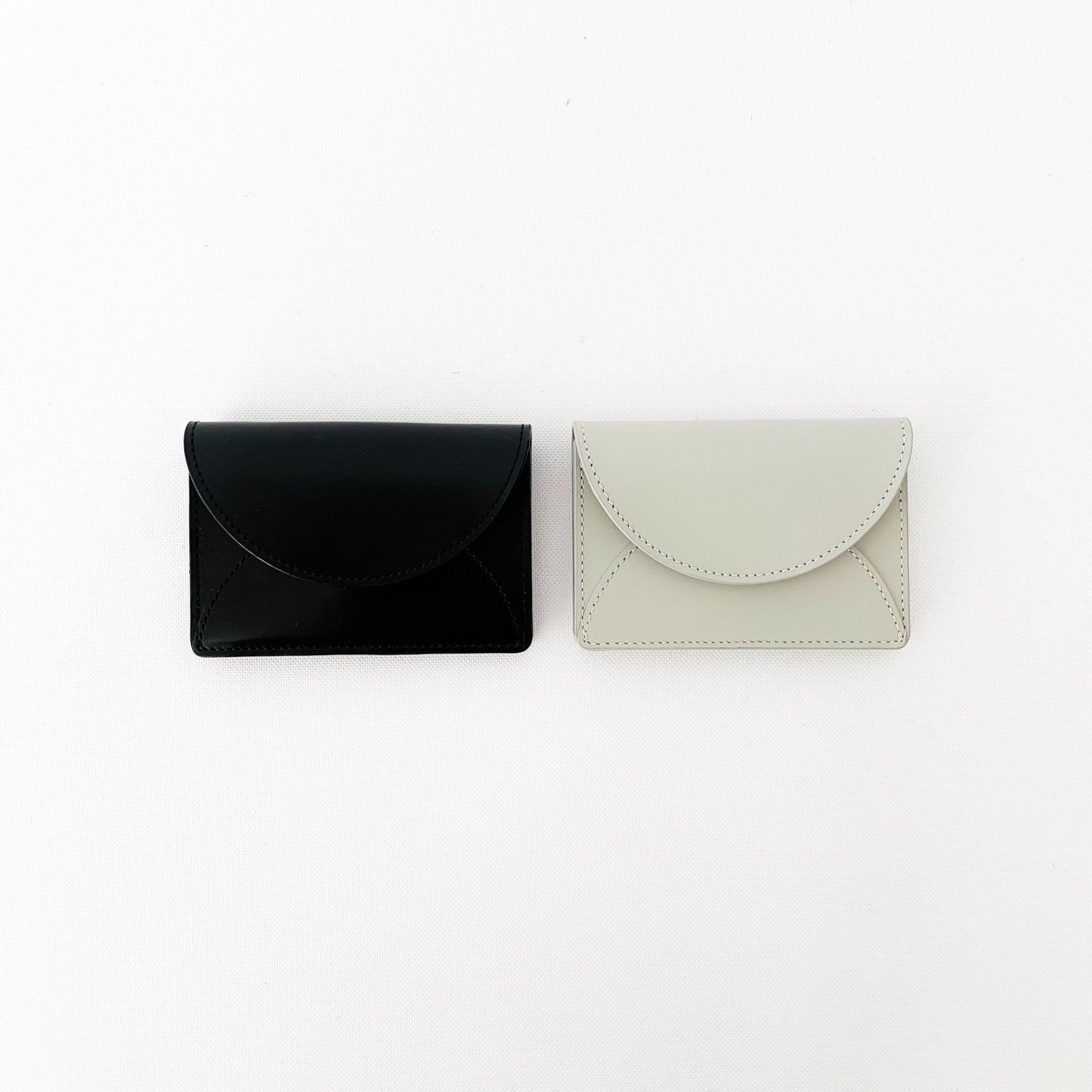 Folded Leather Card Case by Irose - tortoise general store