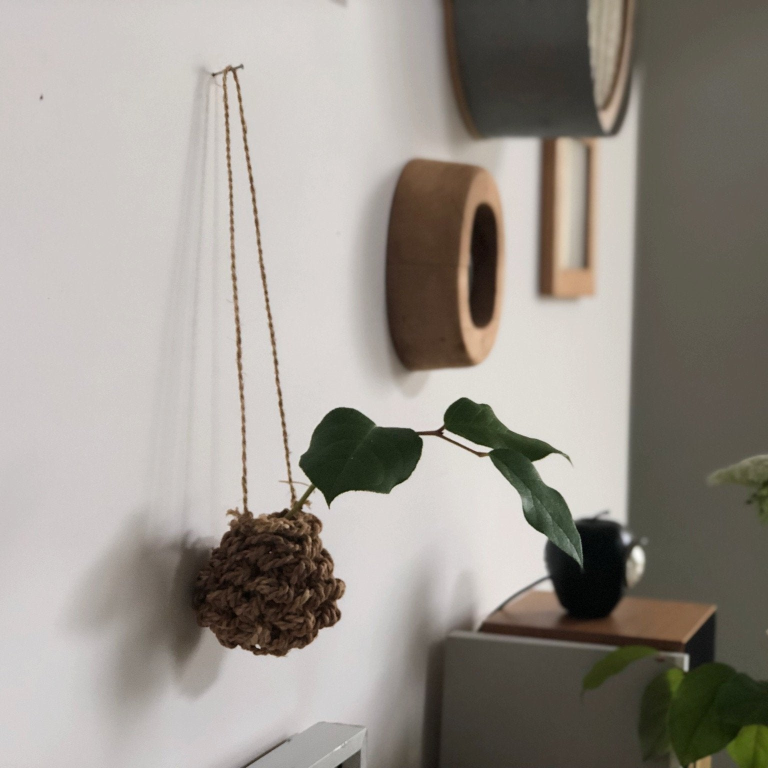 F/style Shina Flower Basket - tortoise general store