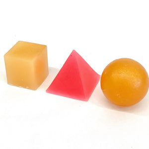 Golda Soap, Cube, Sphere, Pyramid natural ingredients made in California - tortoise general store