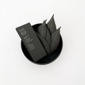 HA KO Paper Incense Black Case - tortoise general store