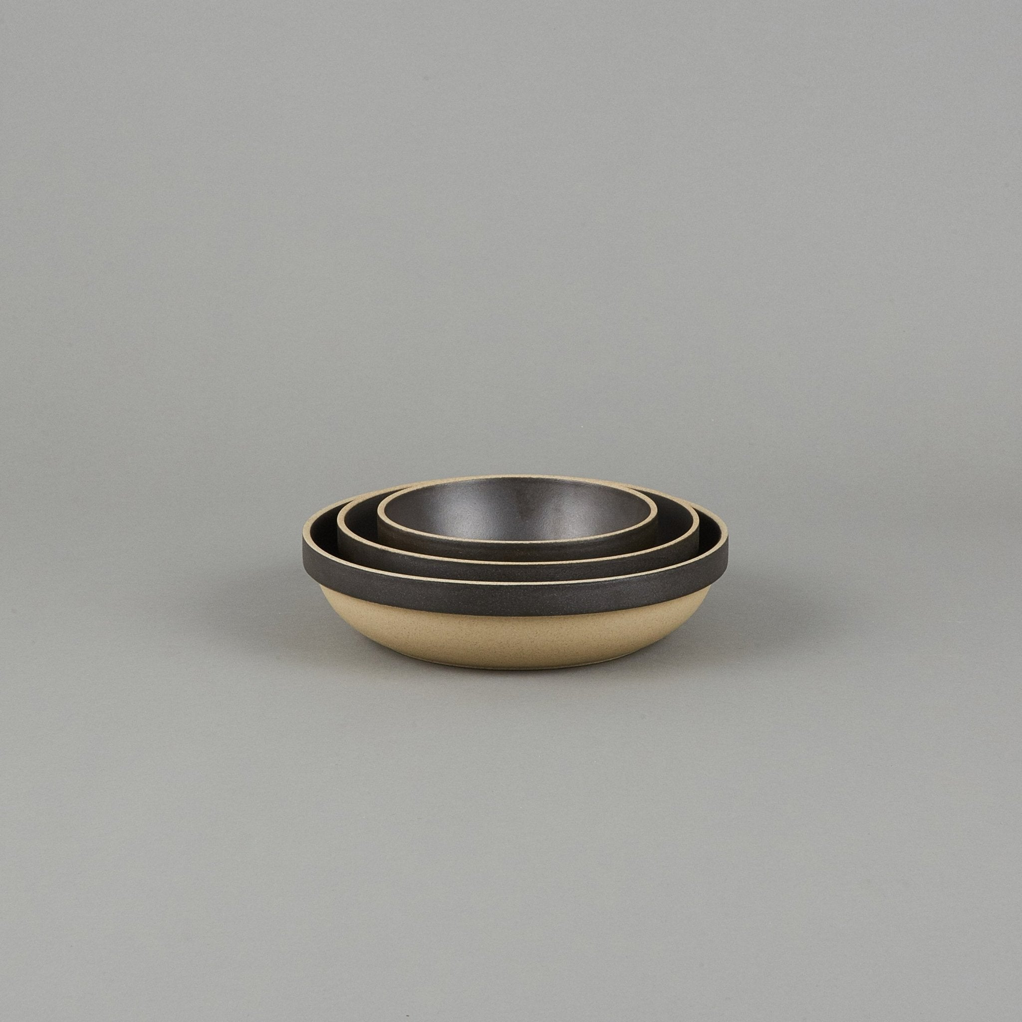 "HPB031 - Round Bowl Black ø 5.5/8"" - tortoise general store"