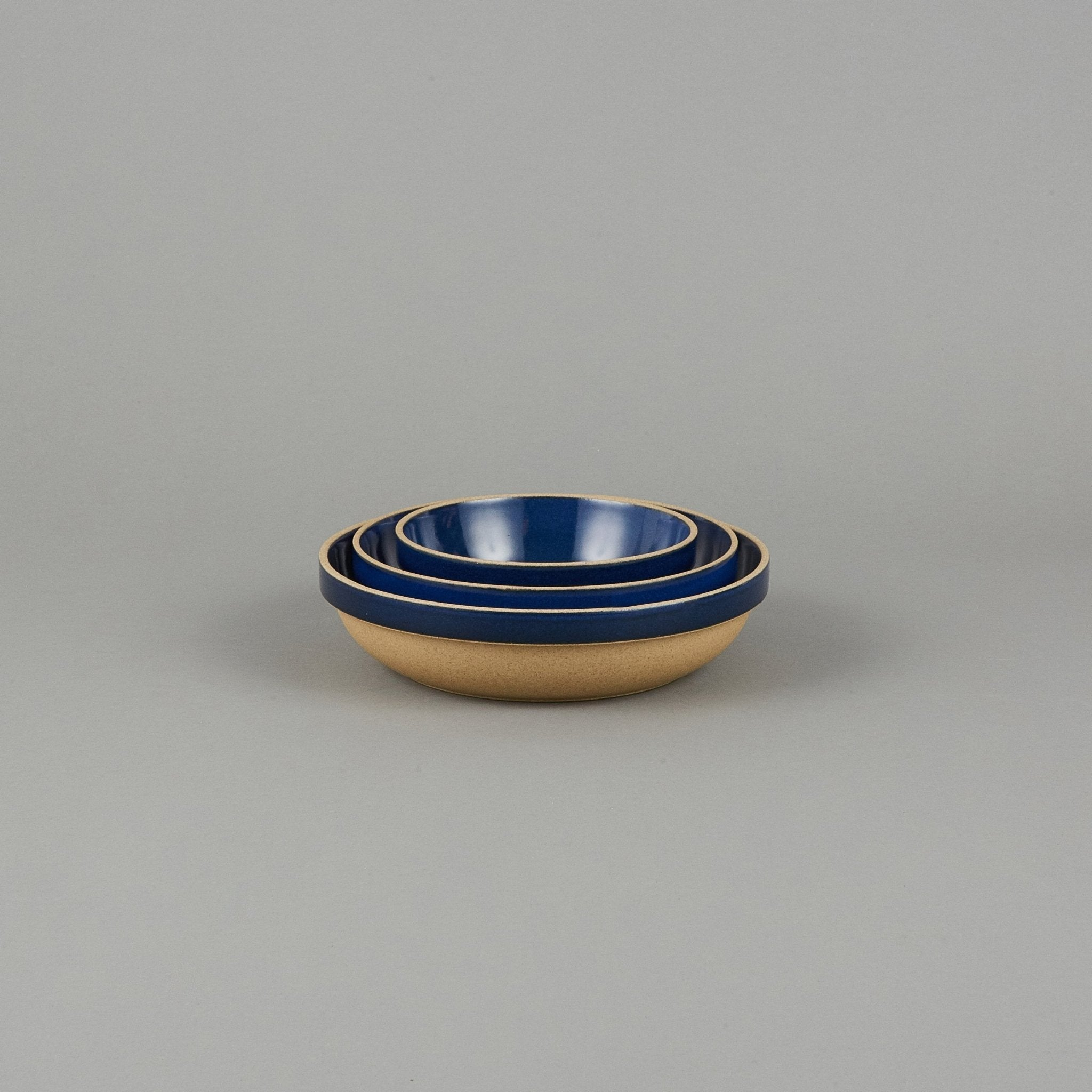 "HPK031 - Round Bowl Gloss Blue ø 5.5/8"" - tortoise general store"