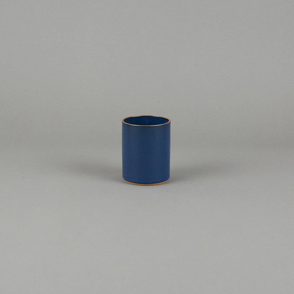 "HPK044 - Planter Gloss Blue ø 3.3/8"" - tortoise general store"
