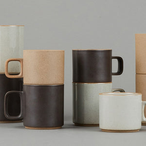HPM020 - Mug Gloss Gray Medium - tortoise general store