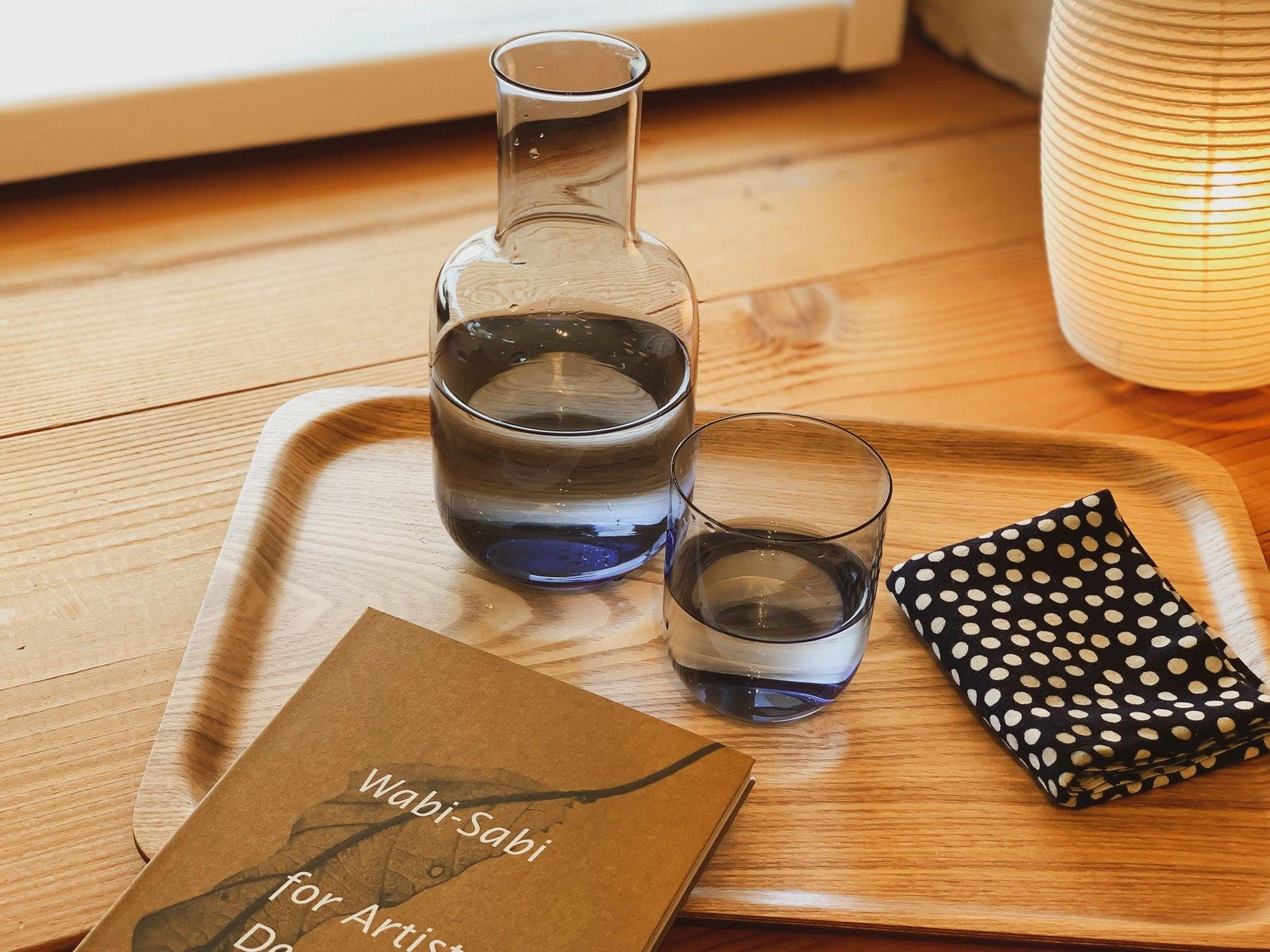 Indigo Night Carafe by Toyo-Sasaki - tortoise general store