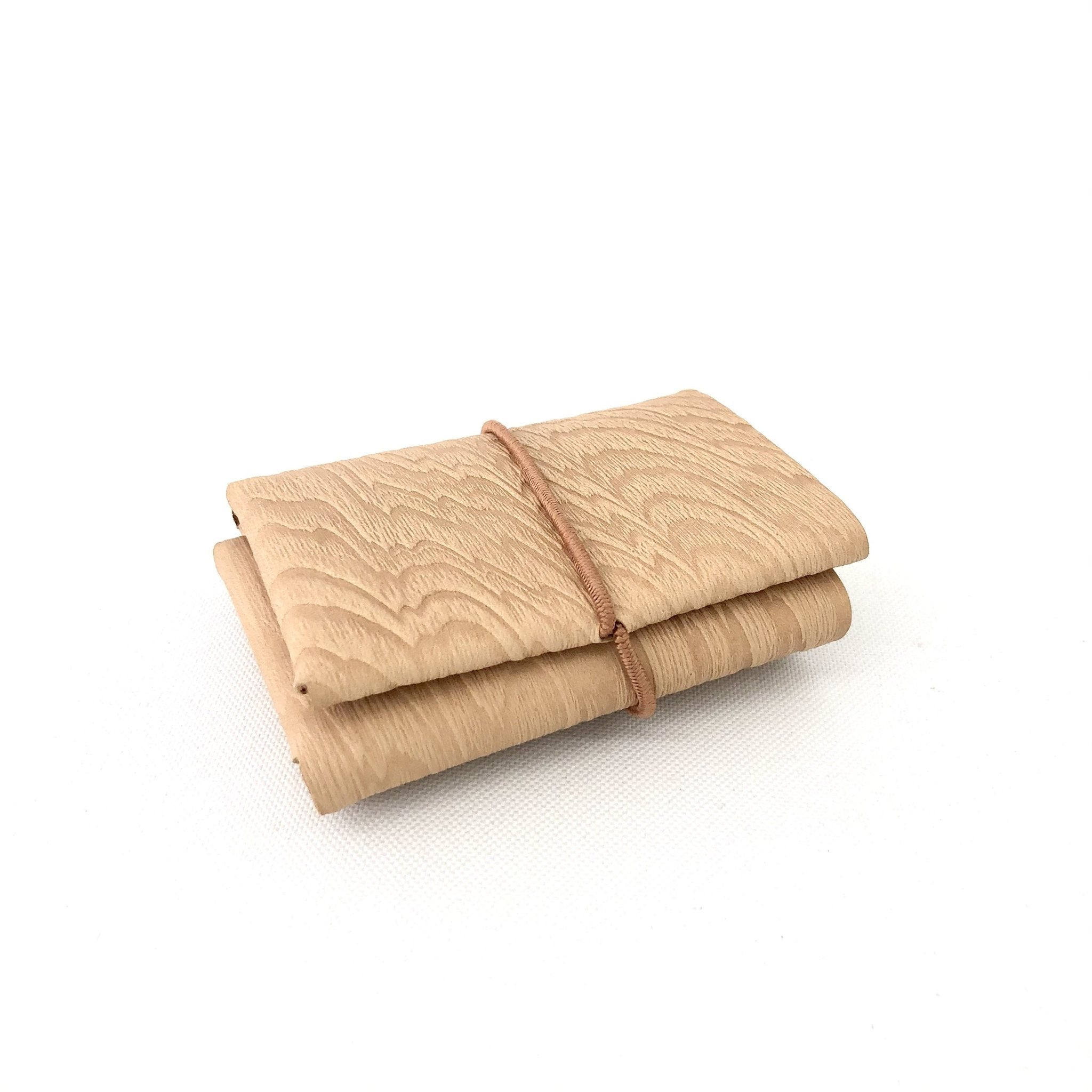Irose Plywood Compact Wallet - tortoise general store