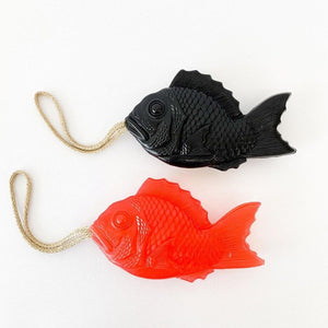 Japanese Tai Fish Soap - Black - tortoise general store