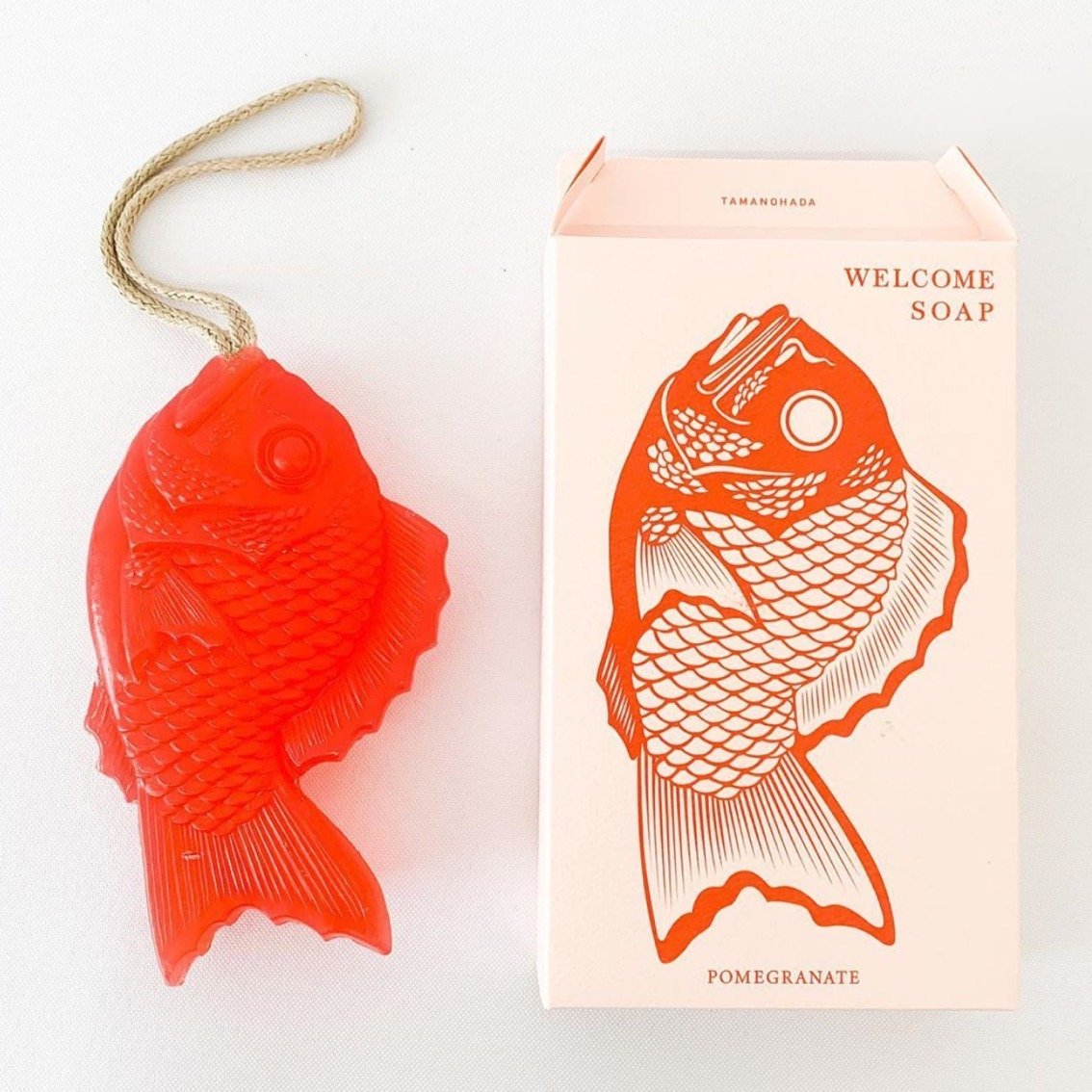 Japanese Tai Fish Soap - Red - tortoise general store