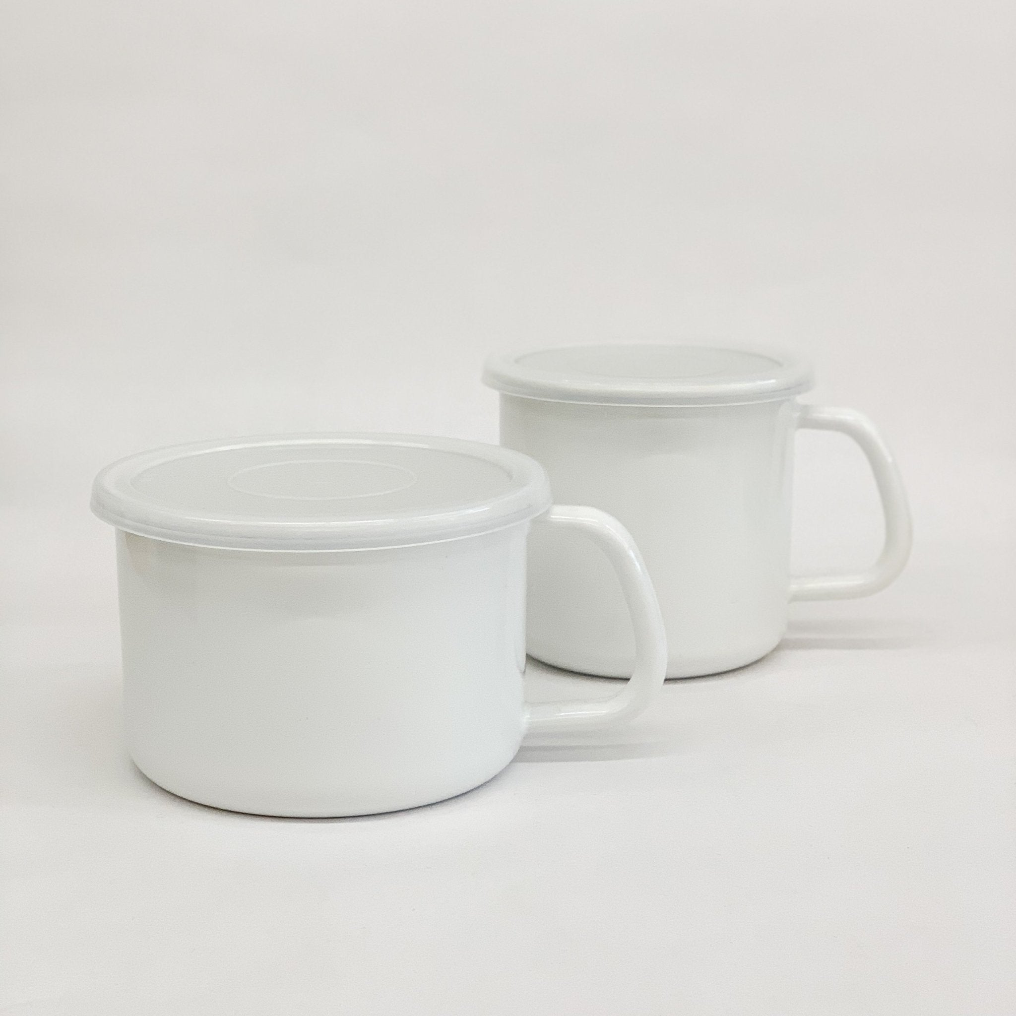 Kaico Enamel Food Containers - tortoise general store