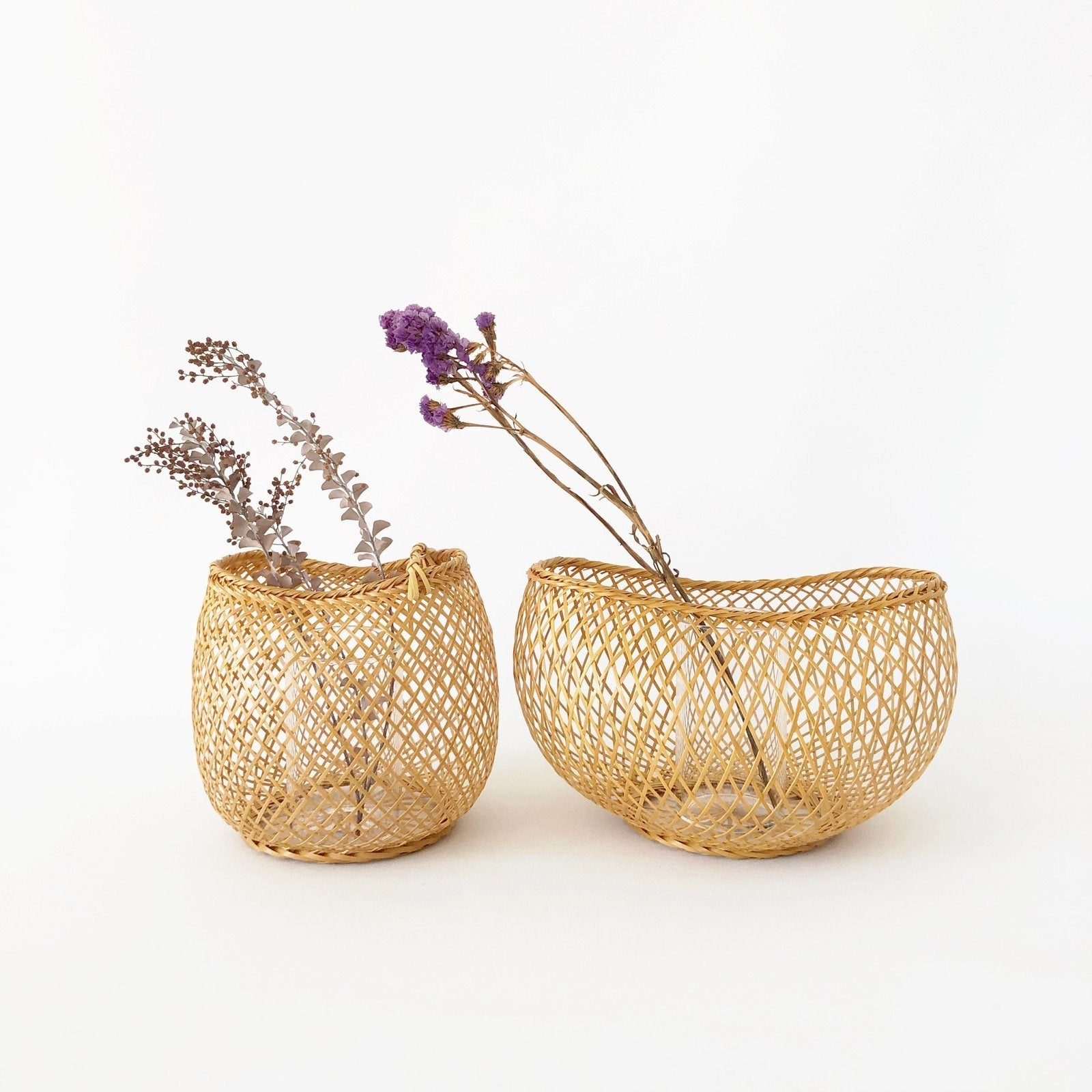 Kosuga Flower Baskets - Mayu and Oboro - tortoise general store