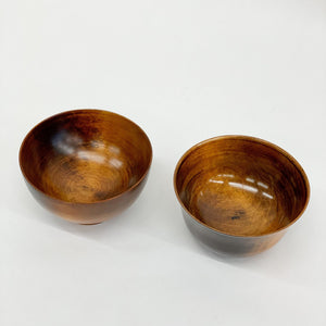 Maple Wooden Soup Bowls- tortoise general store