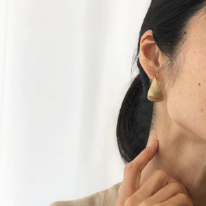 NOKI Earring (L) by Black Barc - tortoise general store