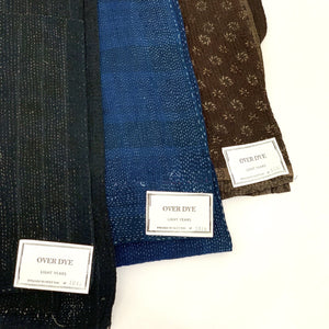 Over Dye Quilt - Indigo Style 1 - tortoise general store