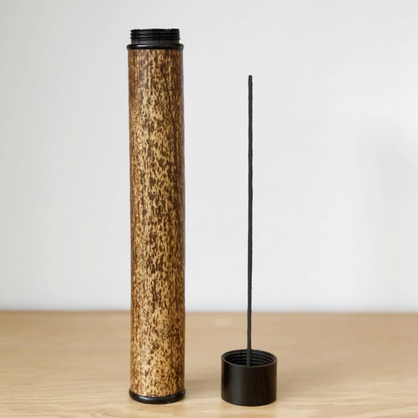 Portable Bamboo Incense Case by Kosuga - tortoise general store