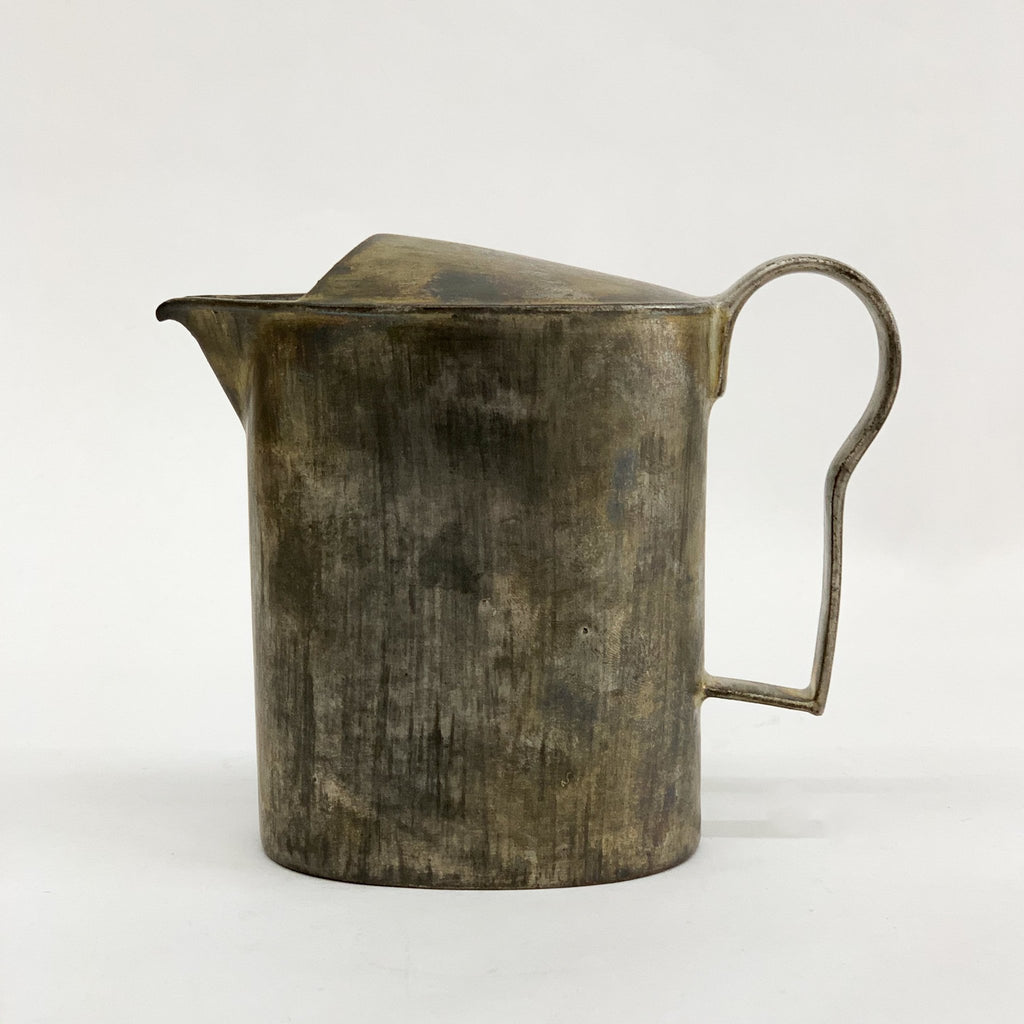 Silver Glazed Pitcher by Masanobu Ando - tortoise general store
