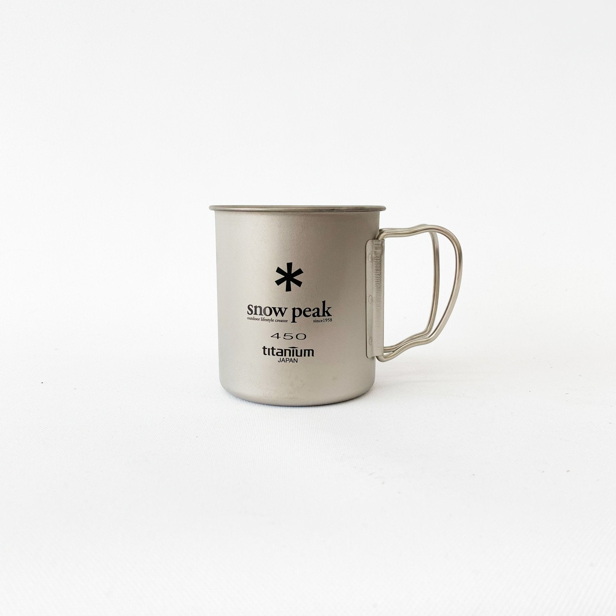 Snow Peak Titanium Single Wall Mugs - tortoise general store