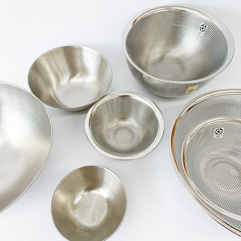 Sori Yanagi Strainers and Bowls - tortoise general store