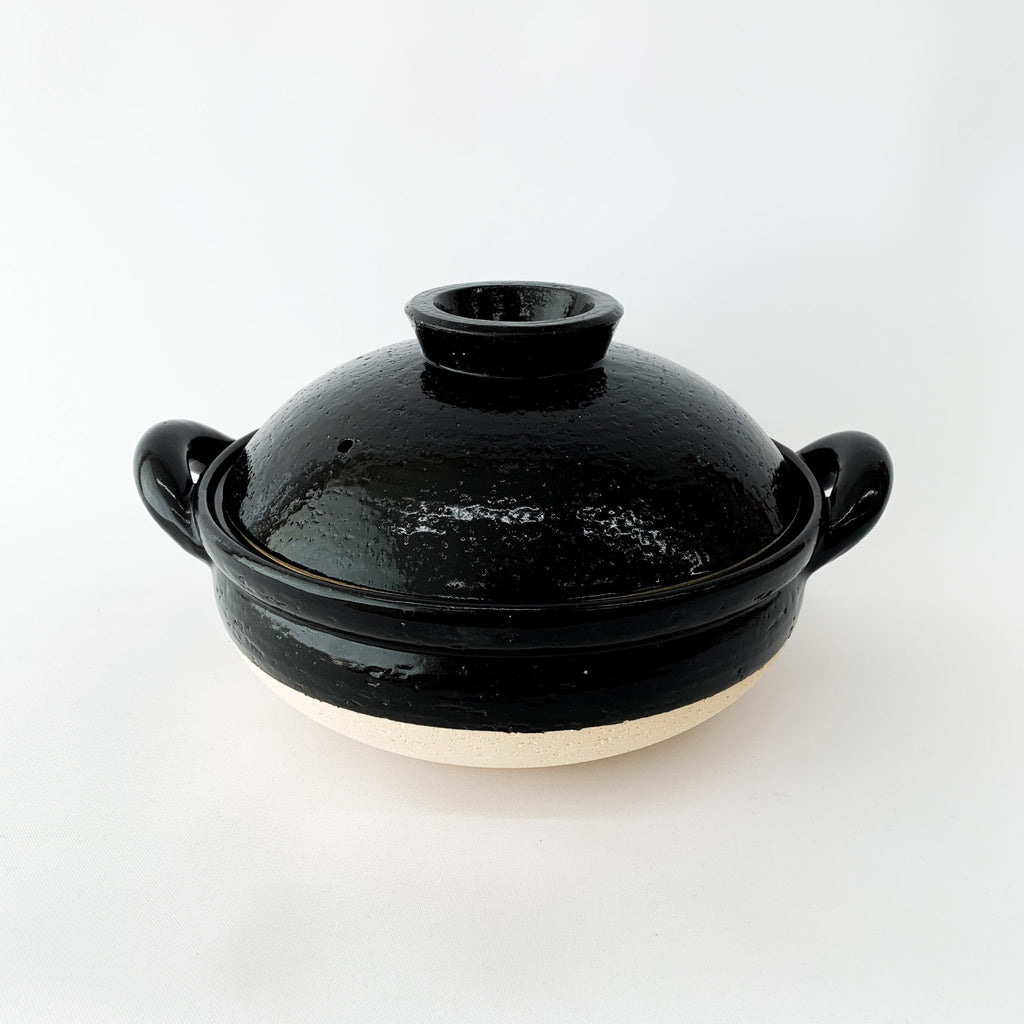 Steamer Donabe - Large Black - tortoise general store