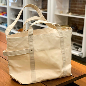 Tembea Canvas Bag Natural Large - tortoise general store