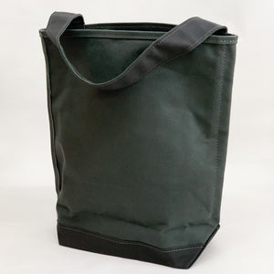 Tembea Canvas One Handle Bag - tortoise general store, charcoal