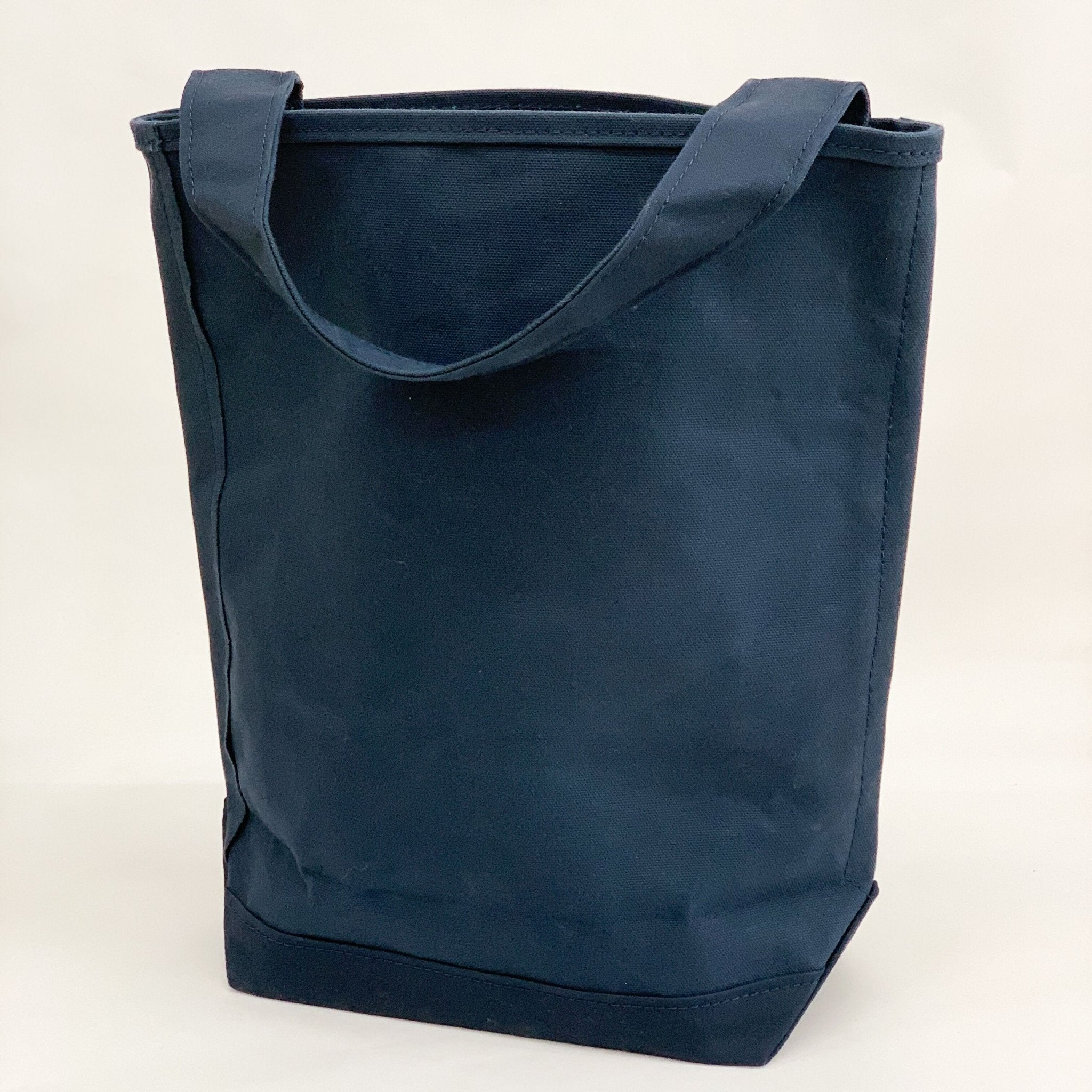 Tembea Canvas One Handle Bag - tortoise general store, oxford blue