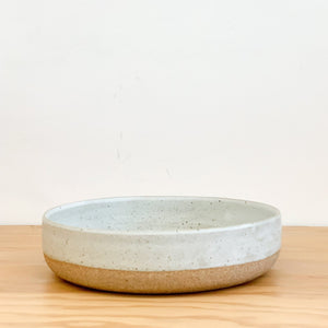 Organic terra deep plate made in LA by Tomoko Morisaki