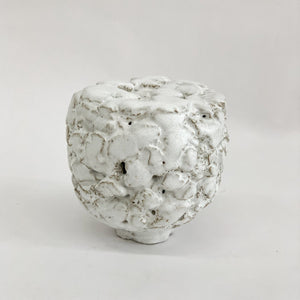 White Ceramic Sculpture by Masanobu Ando - tortoise general store