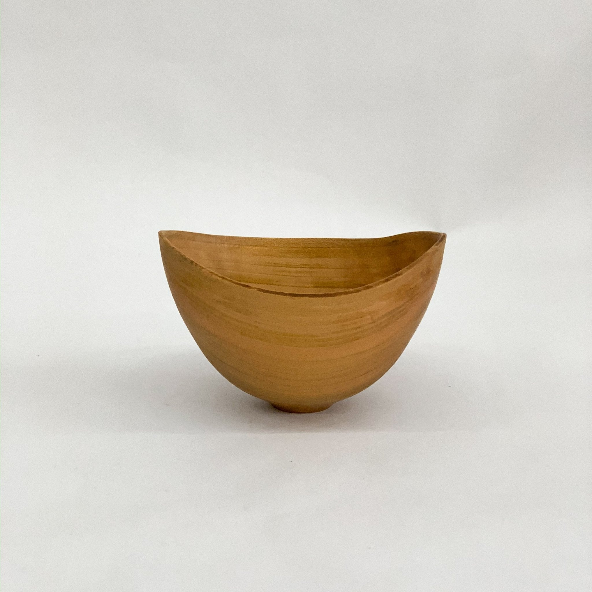 Wooden Bowl Sculpture by Kenji Usuda - tortoise general store