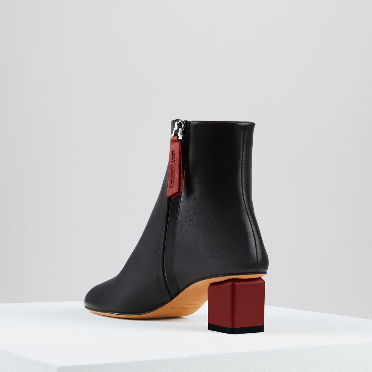Mildred Boots Noir Barolo