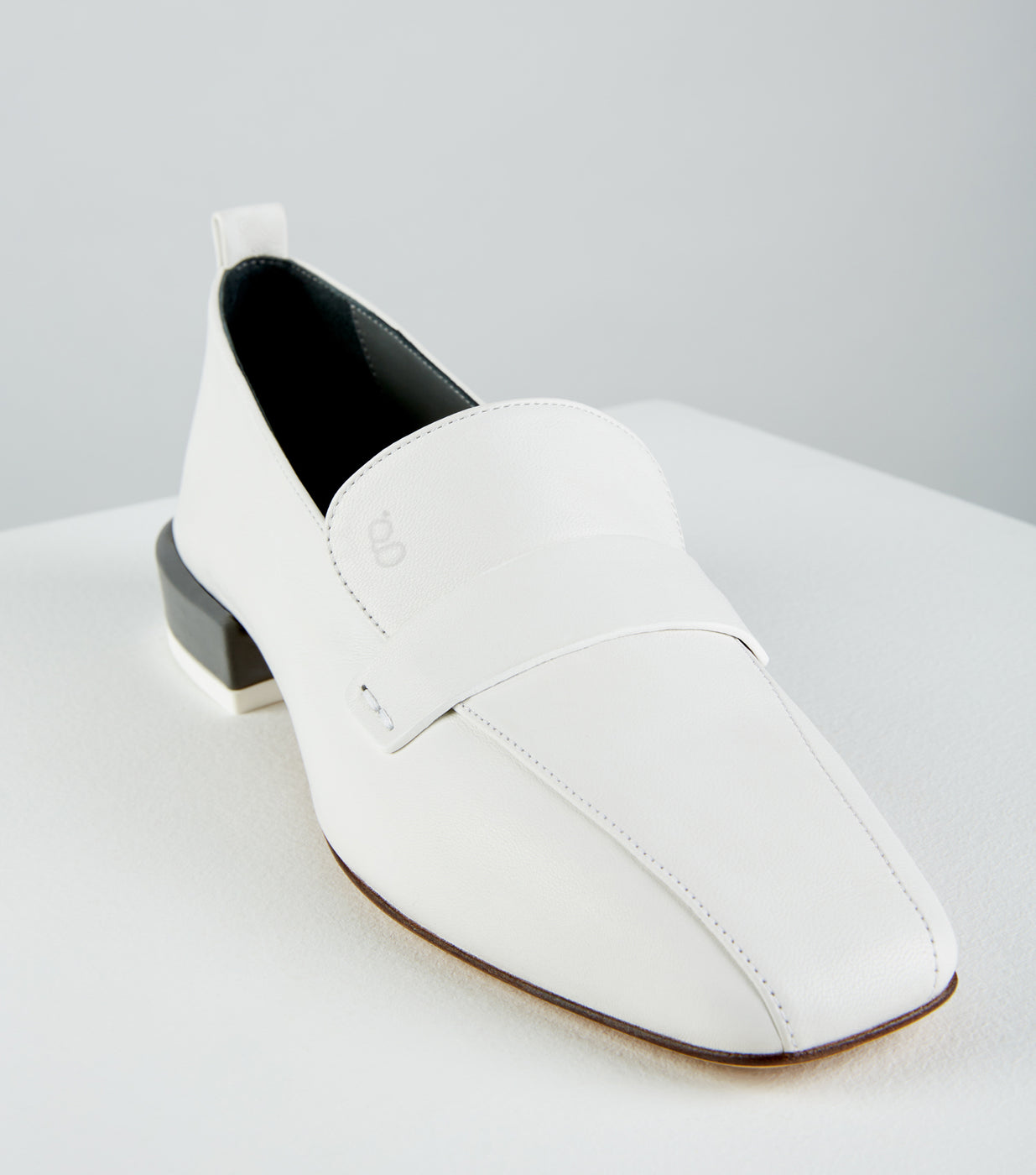 Load image into Gallery viewer, Comoda Loafer Bianco Grigio
