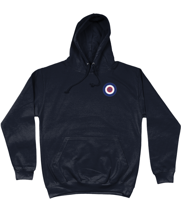 SHH MOD - COLLEGE HOODIE (SMALL LOGO ON FRONT / LARGE LOGO ON BACK)